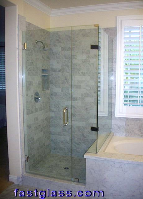 3/8 tempered shower